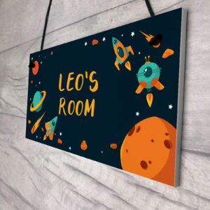 Personalised Space Sign