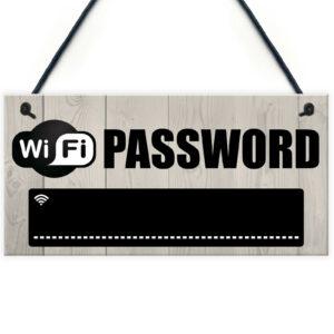 WIFI Password Chalkboard